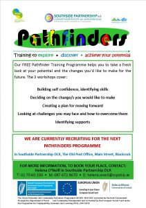 No dates – Pathfinders A5 Flyer – print version
