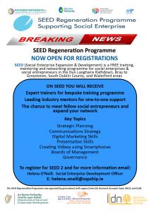 SEED 2 – SEED Regeneration Programme